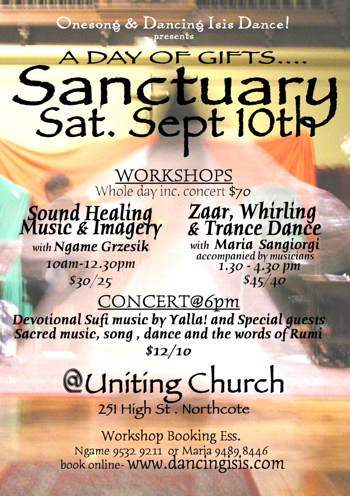 Sanctuary Sept 10th  05