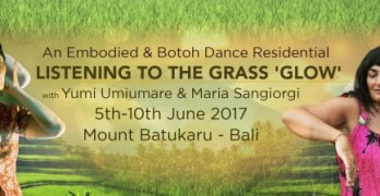 Listening to the grass GLOW Residential Bali June 2017