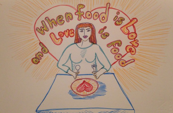 When Food is Love and Love is Food